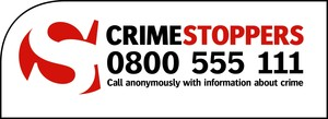 Display crime stoppers logo