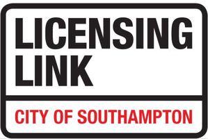 Display licensing link